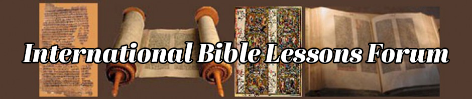 International Bible Lessons Forum